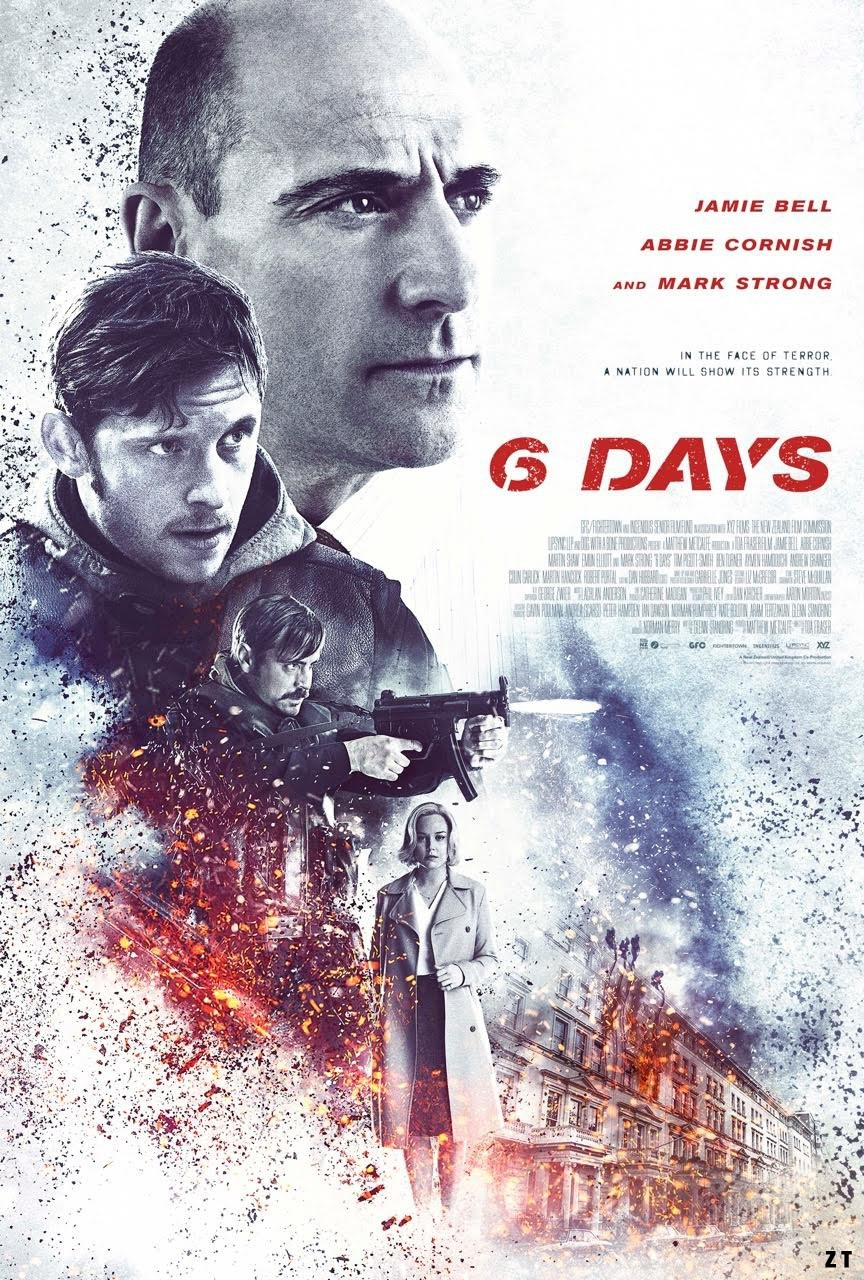 6 Days FRENCH DVDRIP 2017