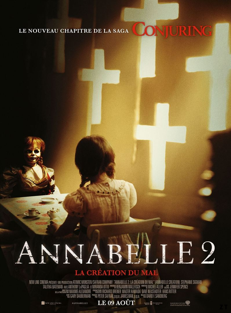 Annabelle 2 : la Création du Mal TRUEFRENCH BluRay 720p 2017