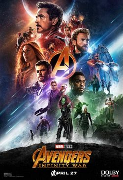 Avengers 3 : Infinity War FRENCH WEBRIP 720p 2018