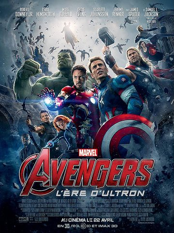 Avengers : L'ère d'Ultron FRENCH BluRay 1080p 2015