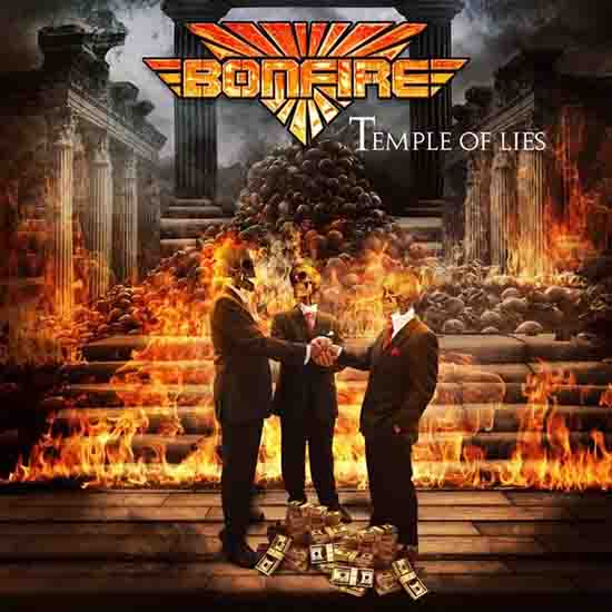 Bonfire - Temple of Lies 2018