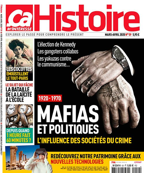 Ca M'intéresse Histoire N°59 - Mars-Avril 2020