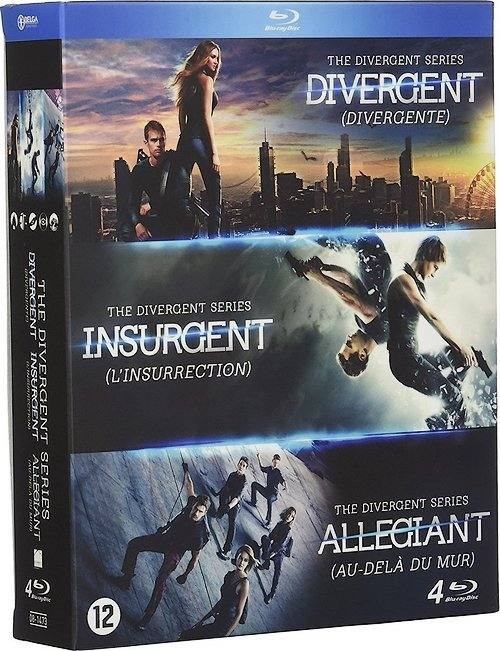 Divergente (Trilogie) FRENCH HDlight 1080p 2014-2016