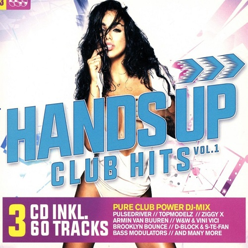 Hands Up Club Hits Vol.1 (3CD) 2018