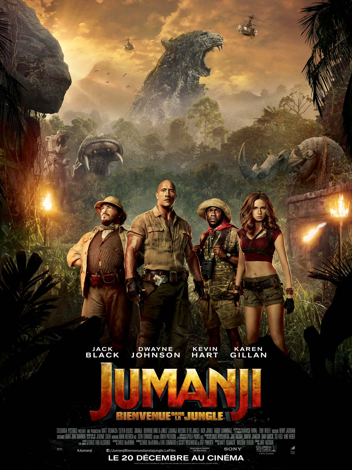 Jumanji 2 : Bienvenue Dans La Jungle FRENCH DVDSCR 2018