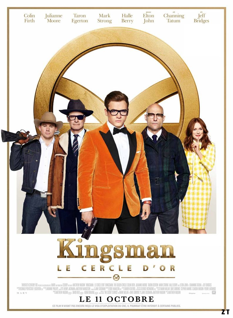 Kingsman : Le Cercle d'or FRENCH DVDRIP 2017
