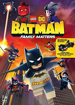 LEGO DC: Batman - Family Matters FRENCH BluRay 720p 2019