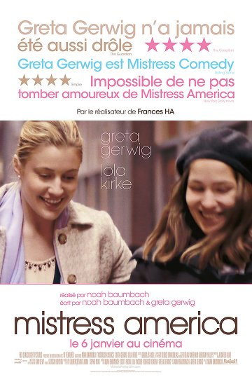 Mistress America FRENCH DVDRIP 2015