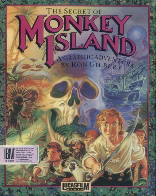 Monkey Island (Quadrilogie) (PC)