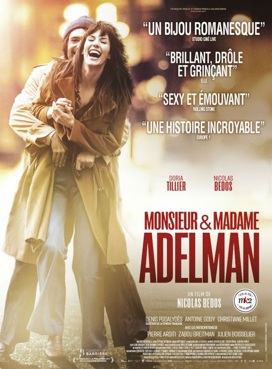 Monsieur & Madame Adelman FRENCH HDlight 1080p 2017