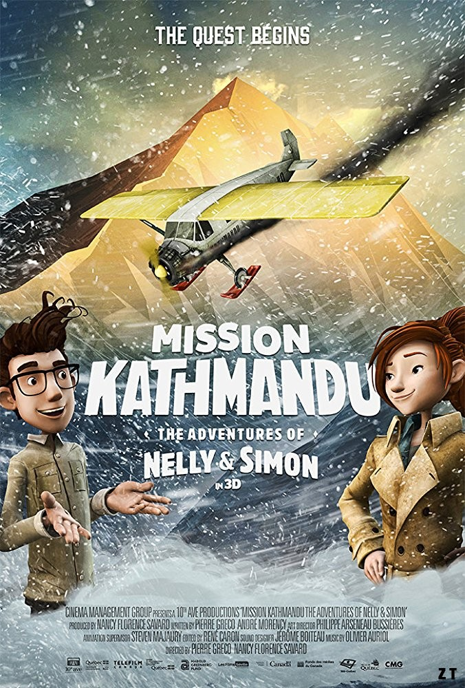 Nelly et Simon: Mission Yéti FRENCH WEBRIP 1080p 2018