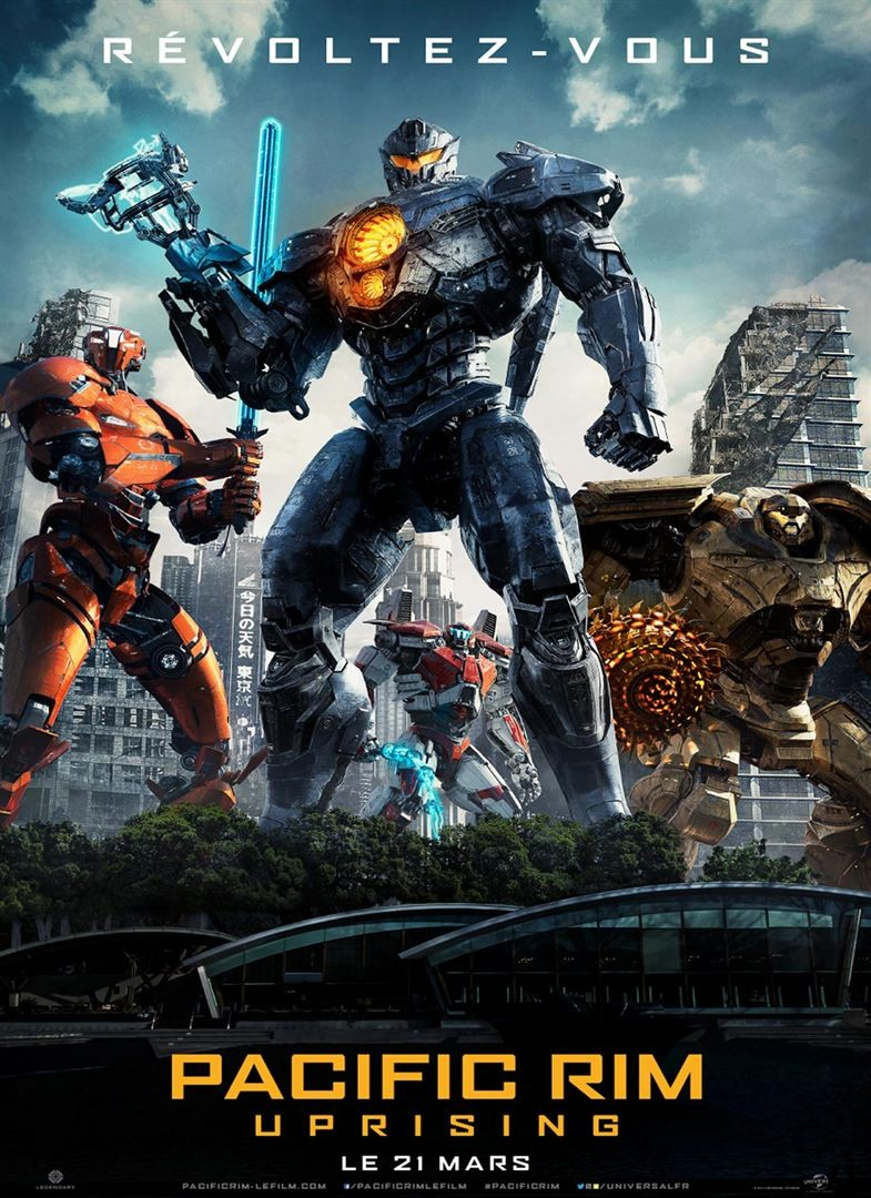 Pacific Rim 2 : Uprising FRENCH BluRay 1080p 2018