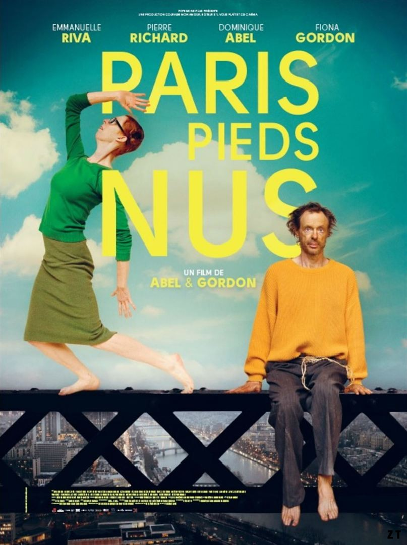 Paris pieds nus FRENCH DVDRIP 2017