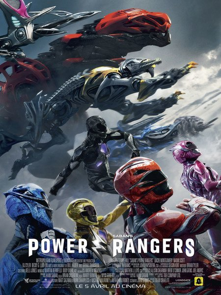 Power Rangers FRENCH DVDRIP 2017