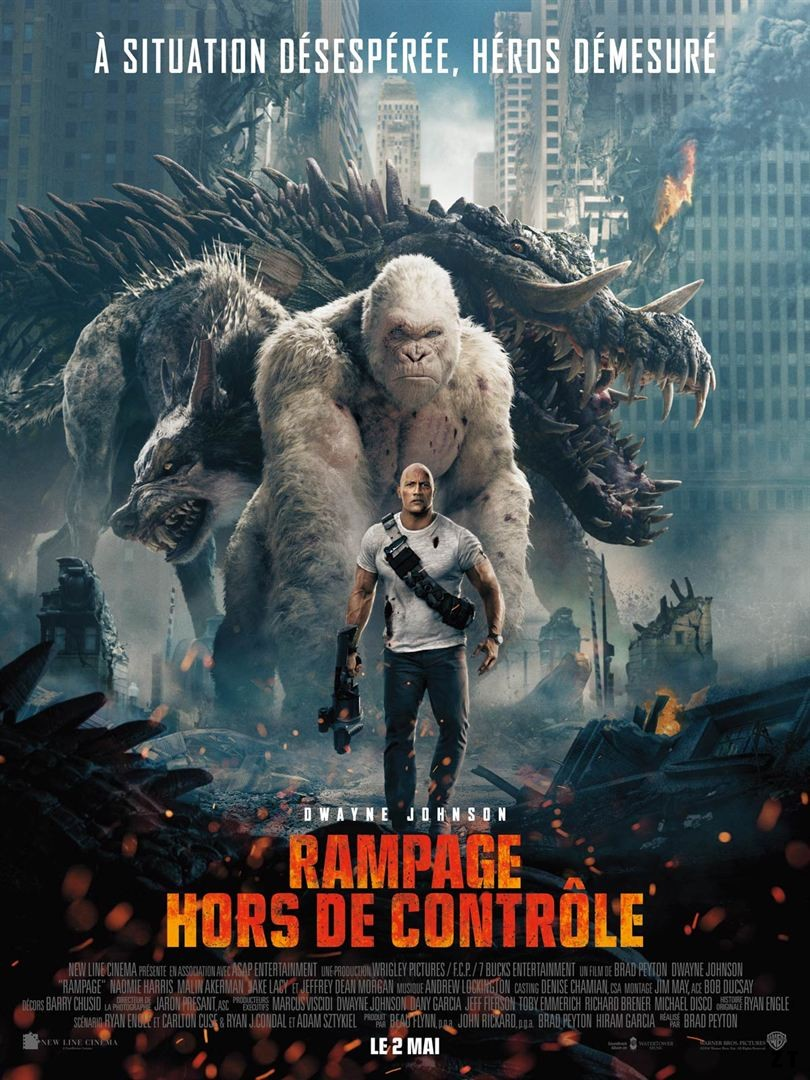 Rampage - Hors de contrôle FRENCH BluRay 1080p 2018