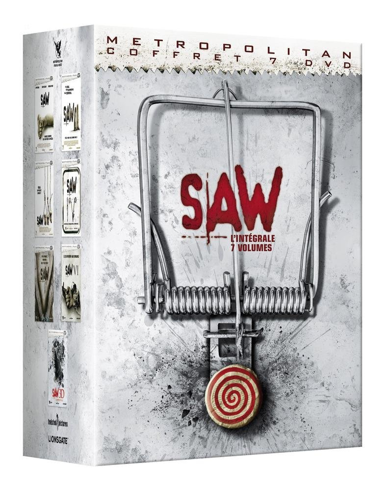 Saw (Intégrale 7 films) FRENCH HDlight 1080p 2004-2010