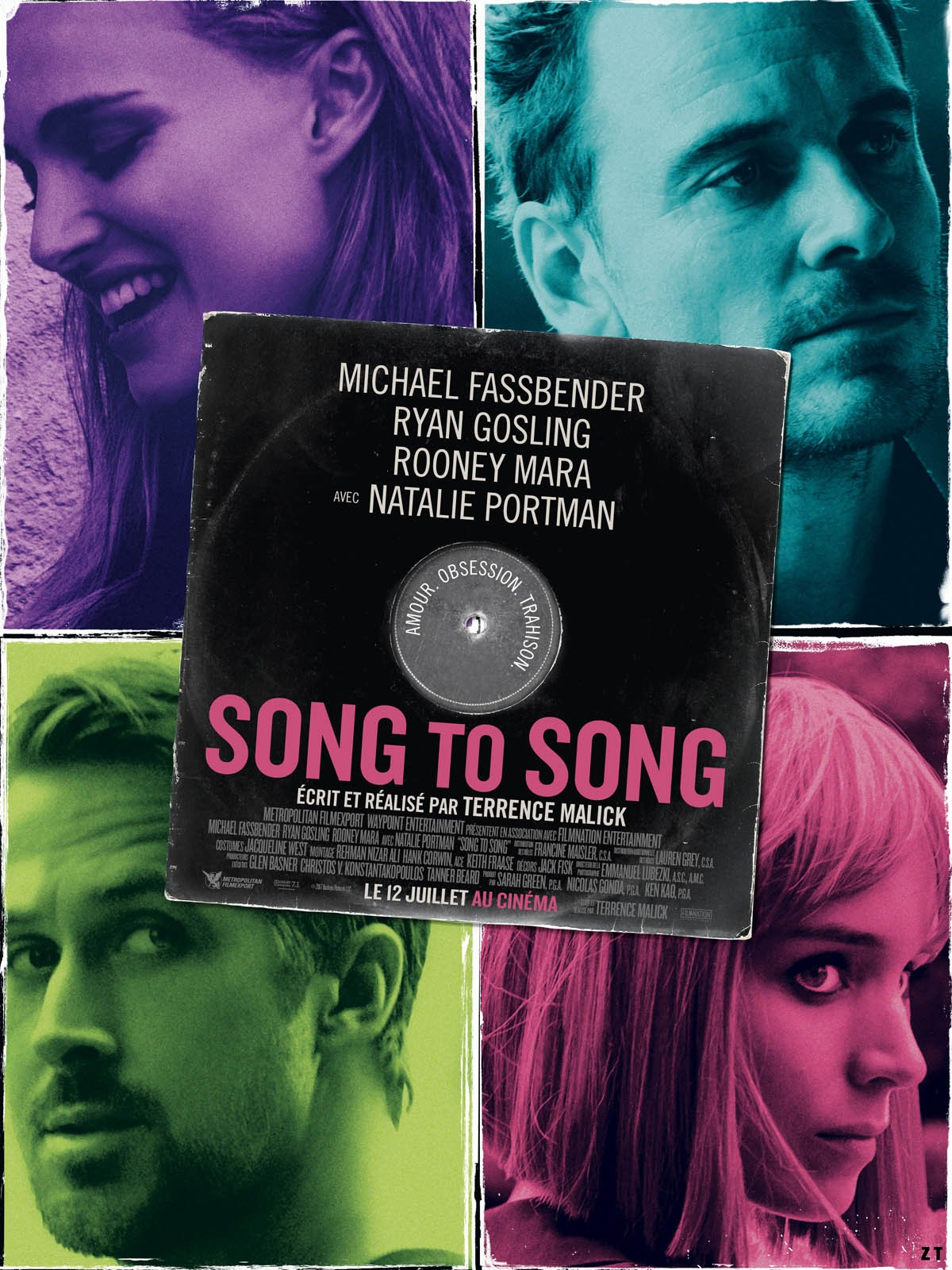 Song To Song FRENCH BluRay 720p 2017