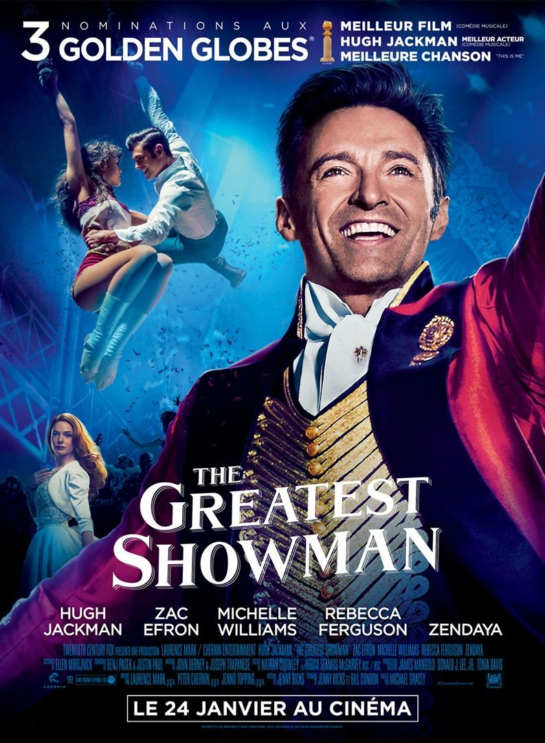 The Greatest Showman FRENCH BluRay 1080p 2018
