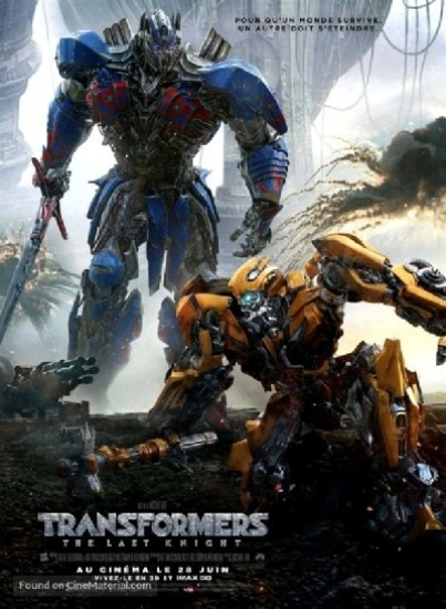 Transformers: The Last Knight FRENCH DVDRIP 2017