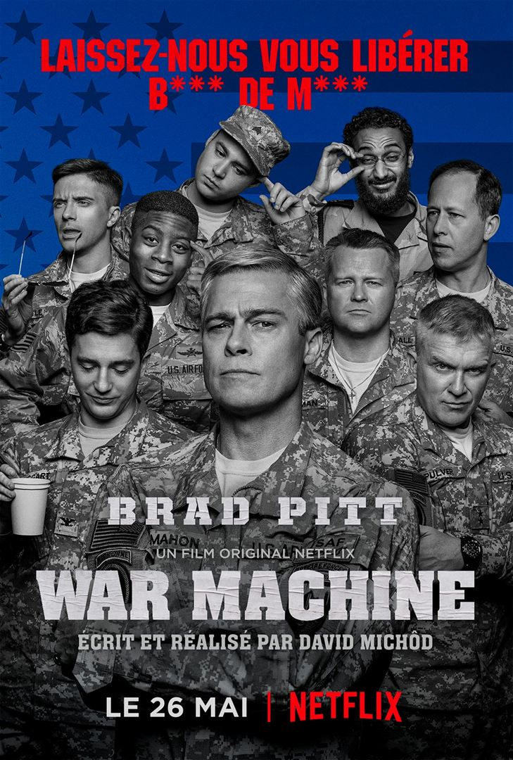 War Machine FRENCH WEBRIP x264 2017
